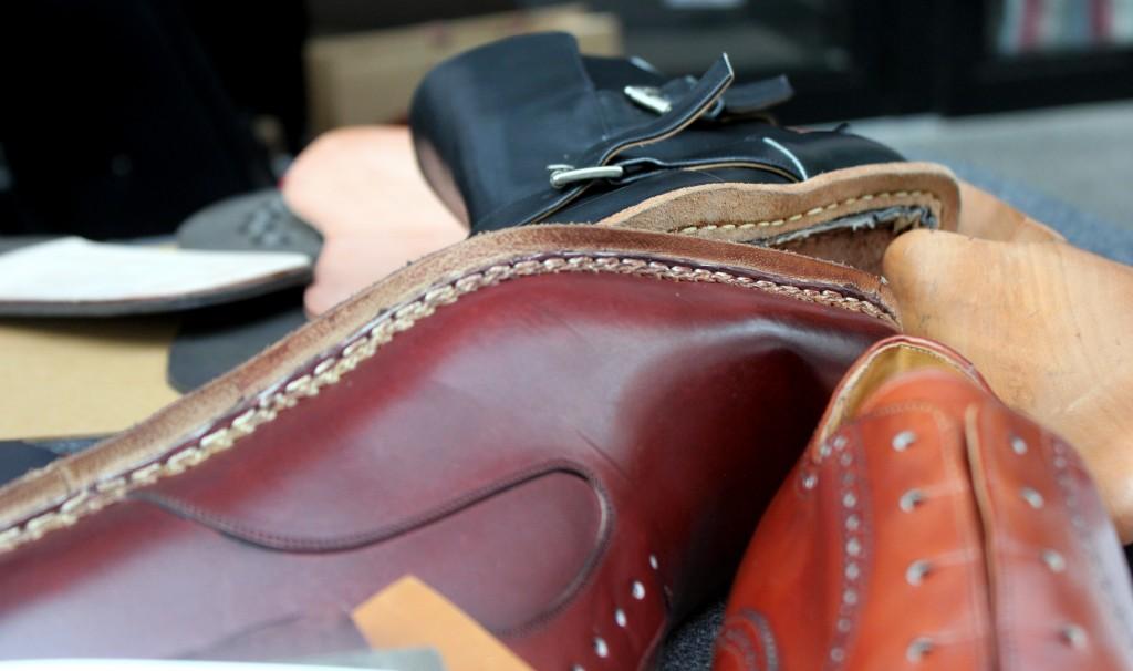 Meermin kenkien rakenne - 2