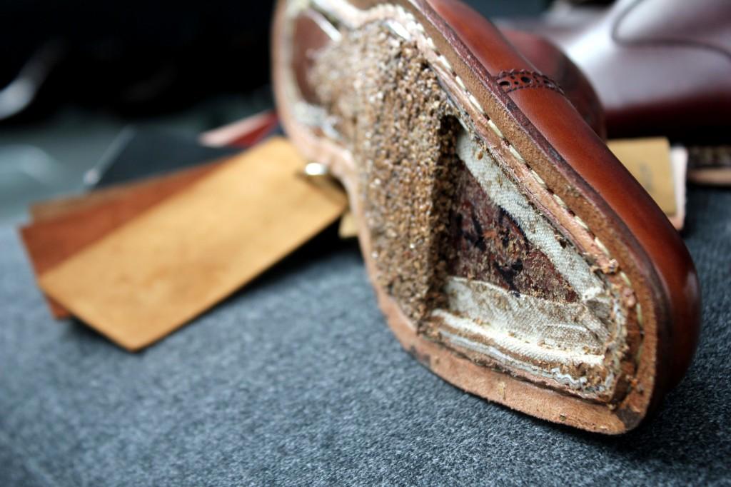 Meermin kenkien rakenne