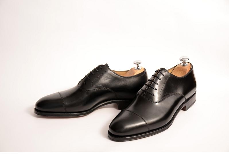 Meermin kengät - mustat oxfordit