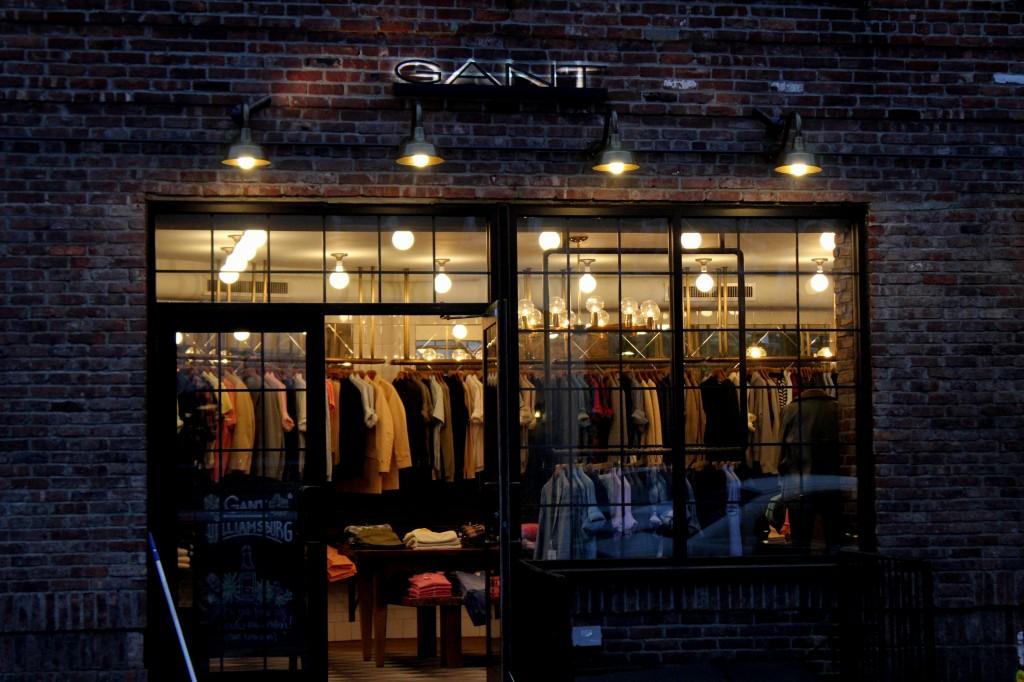 Parhaat ostospaikat New Yorkissa - Gant