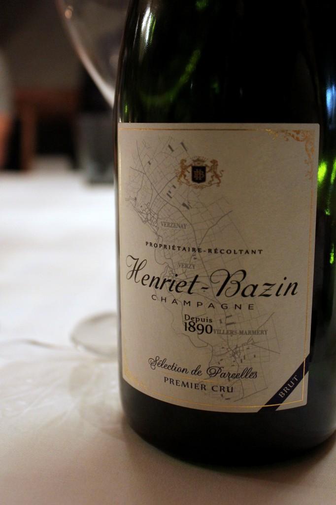 Samppanjatasting - Henriet Bazin champagne