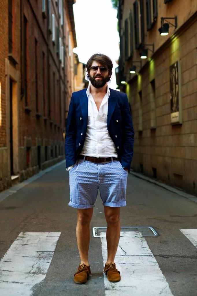 Shortsit ja miesten kesätyylit