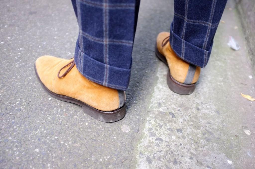 Christian Kimber Chukka boots