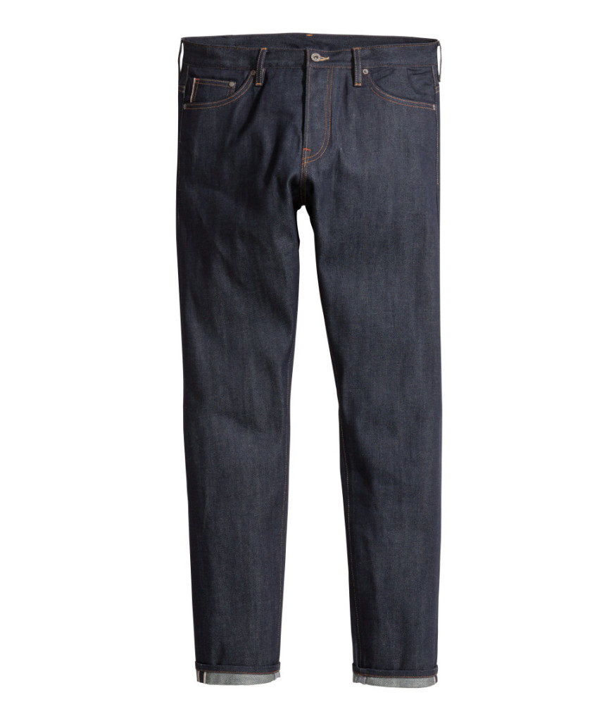 hennes&mauritz selvedge denim