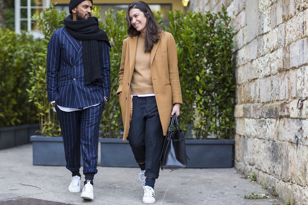 Pitti Uomo 87 - adidas superstar