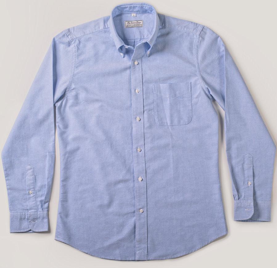 Lean Garmentsin ykkösmalli - sininen OCBD