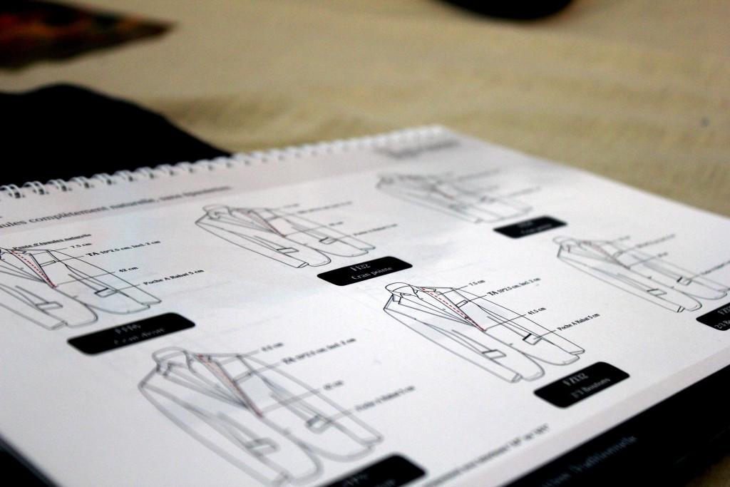 mittapuvun tilaaminen - takin rakenne