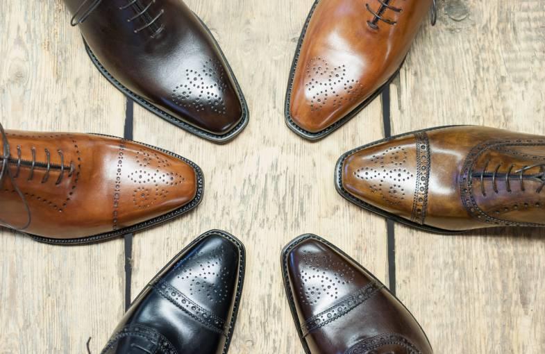 Italigente miesten kengät