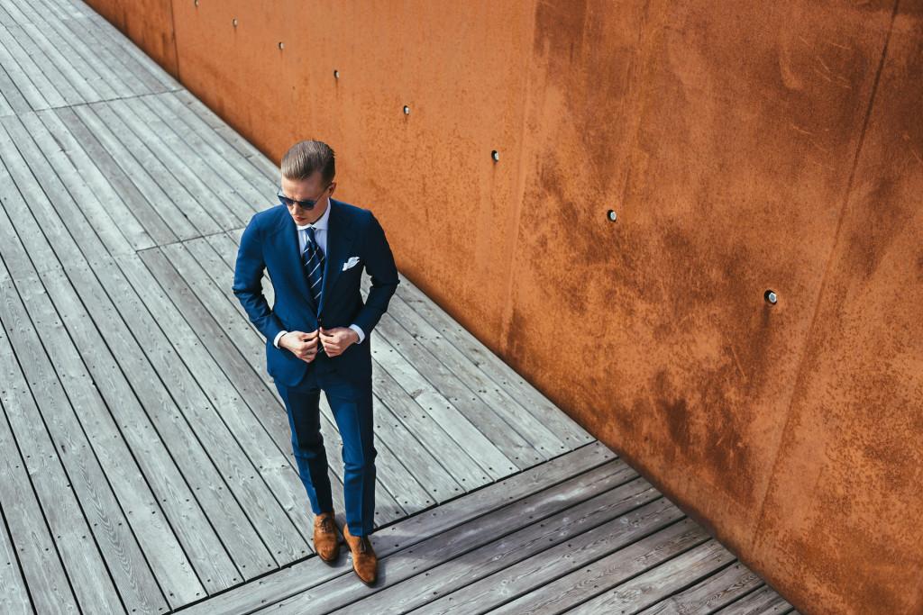 Miesten pukeutuminen - puku