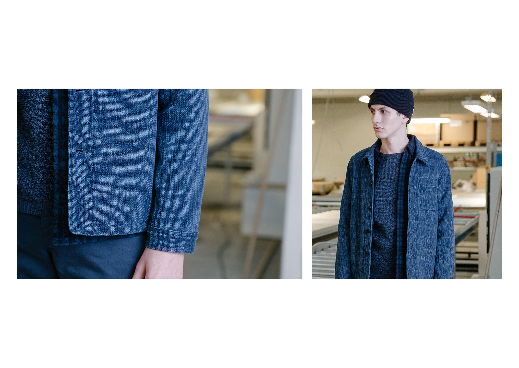 Norse Projects FW15 - minimalistisen sinistä