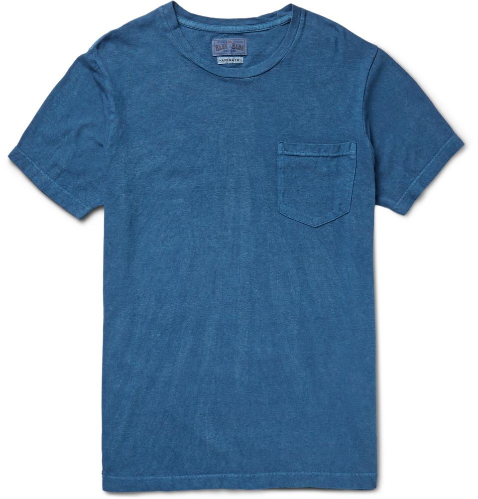 Laadukas T-paita - Blue Blue Japan