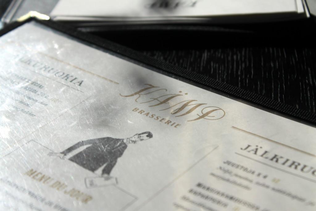 Ravintola Brasserie Kämp - menu