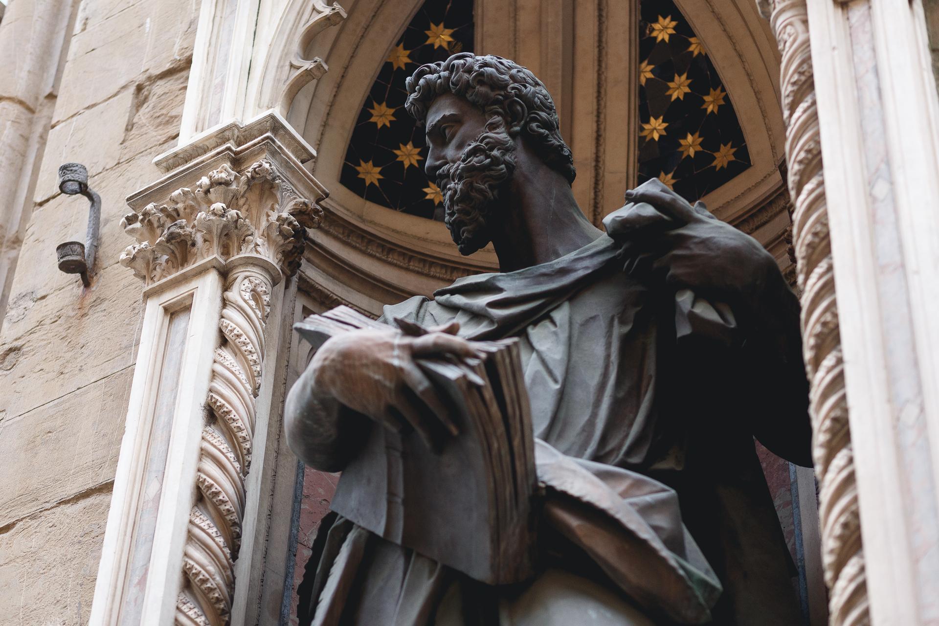 Pitti Uomo 93 - Firenzen nähtävyydet ja patsaat